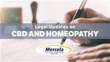Legal Updates on CBD and Homeopathy