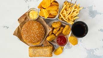 不健康な食品