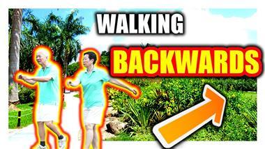 Walking Backward Boosts Your Memory