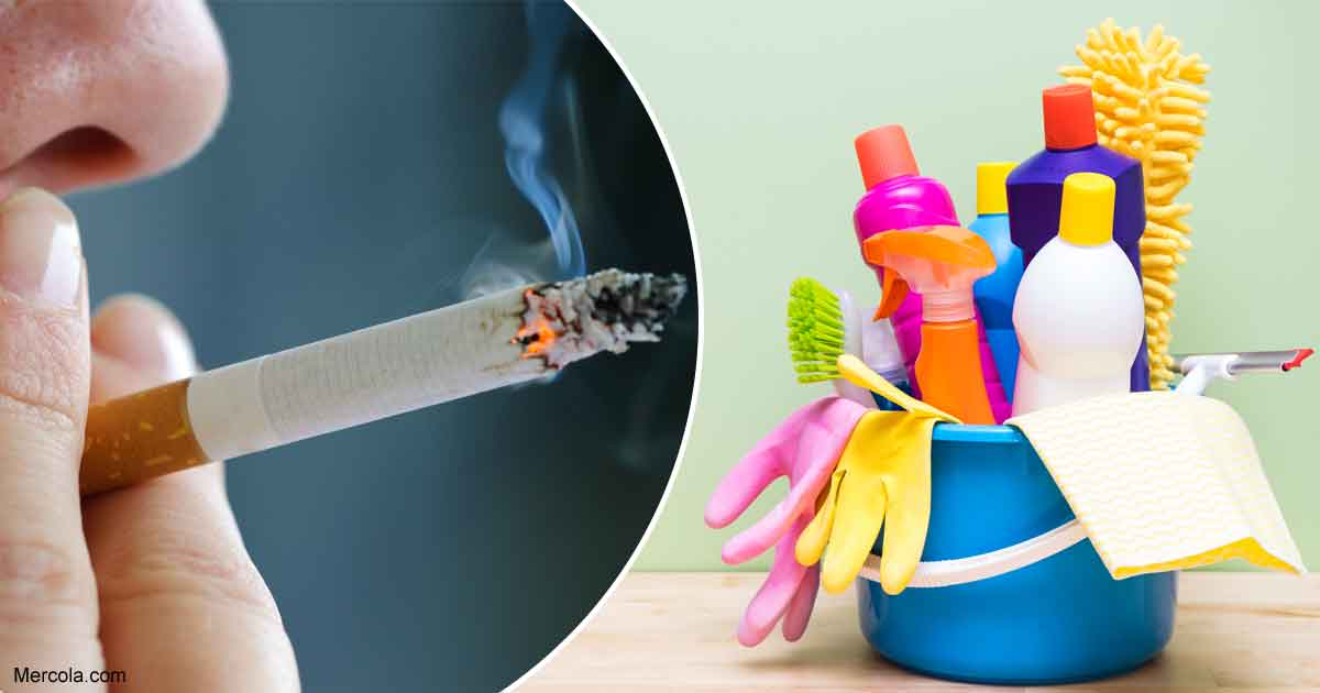 Long Term Effects Of Smoking >> Exposure to Cleaning Products Are as Bad as Pack-a-Day Smoking