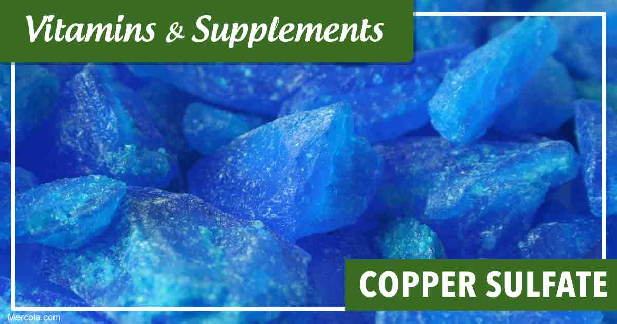 Copper Sulfate: Uses and Side Effects