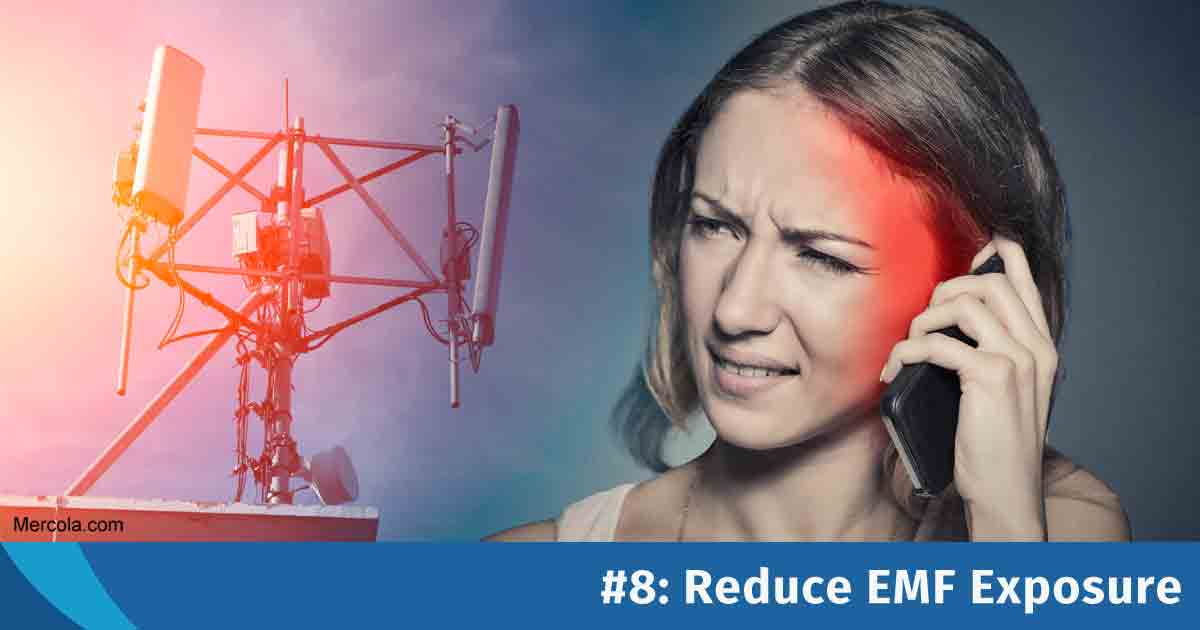 Reduce EMF Exposure