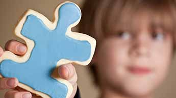 Puzzle de biscuits bleus