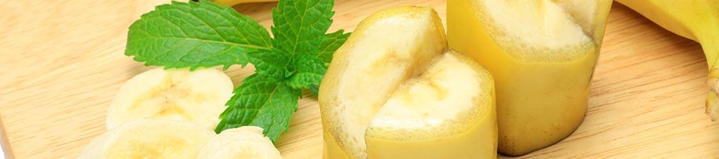 바나나로 만드는 건강한 레시피
