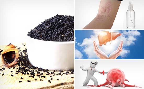 Benefícios para a Saúde do Óleo de Sementes Pretas