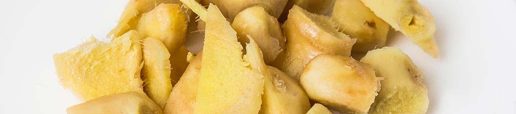 Здоровые рецепты с имбирем