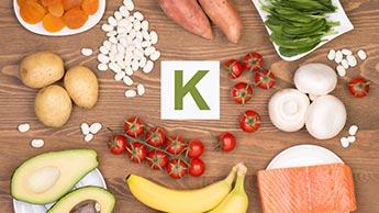 칼륨이 풍부한 식품들