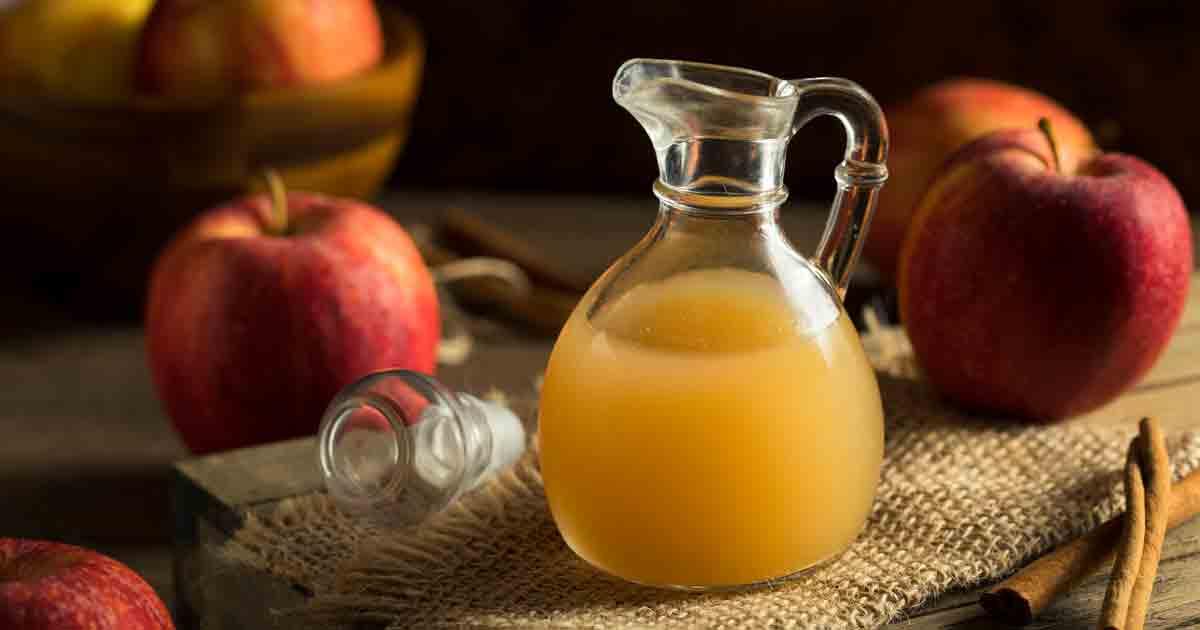 vinagre de manzana sencillo para adelgazar