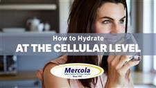 Hydration Is About More Than Just Drinking Water � How to Hydrate at the Cellular Level to Improve Health and Longevity