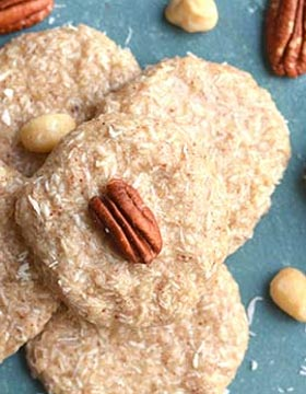 Nutty No-Bake Keto Cookies