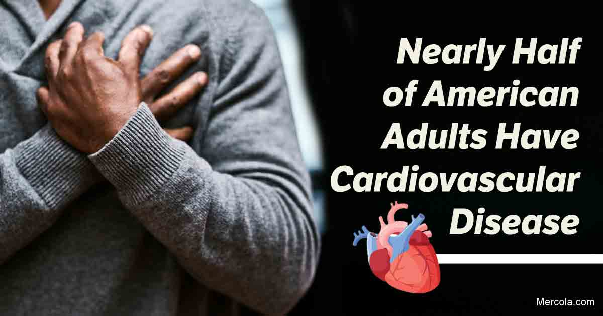 Nearly Half of American Adults Have Cardiovascular Disease