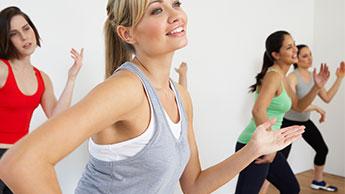 Lezione di zumba fitness