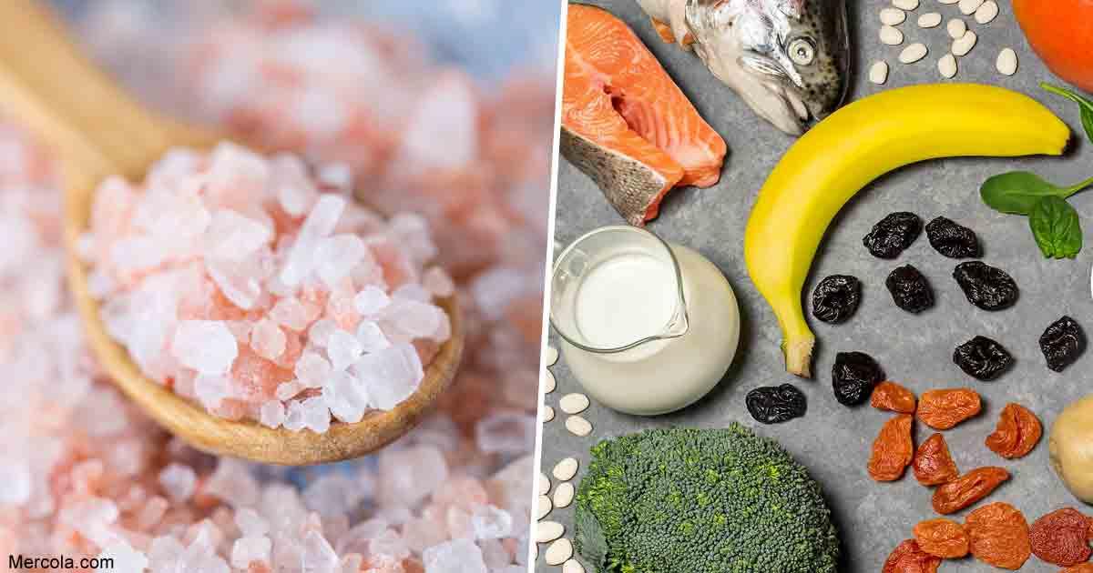 Less Salt or More Potassium and Fiber?