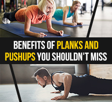 Benefits of Planks and Pushups