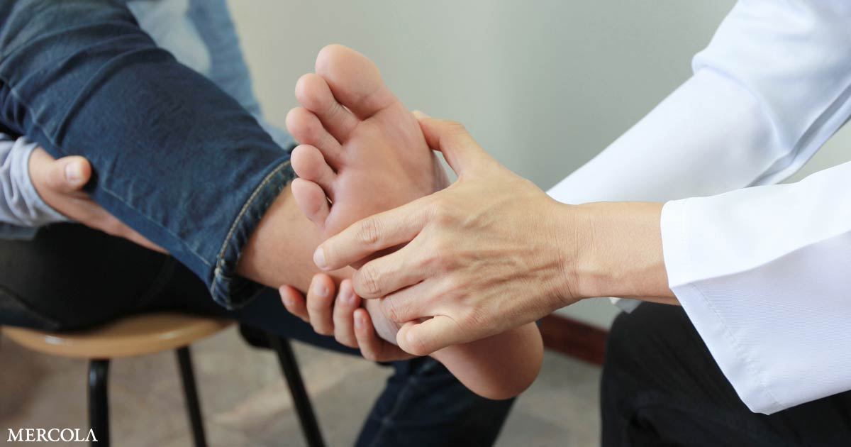 Vitamin D Lowers Foot Pain With Knee Osteoarthritis