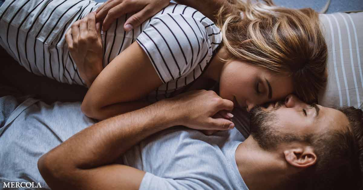 Couples Who Cuddle Sleep Better