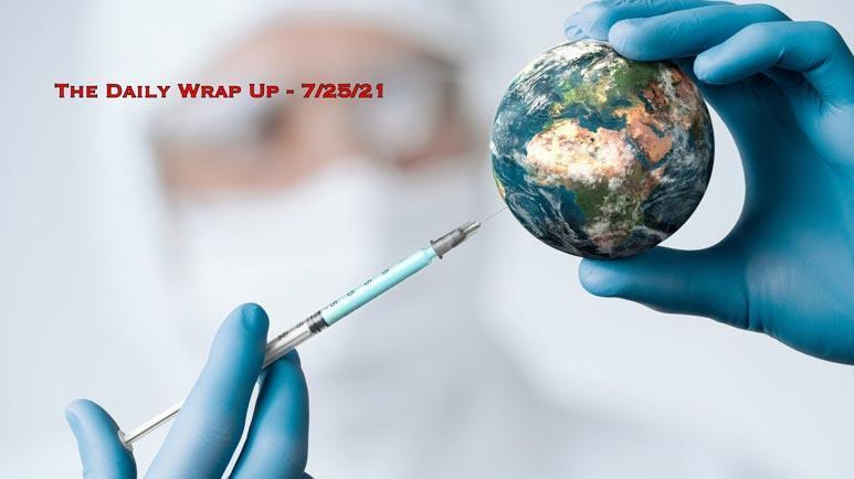 Ausbreitung des Coronavirus unter Geimpften in hochgradig geimpften Ländern