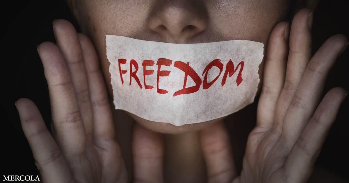 Decentralization Urgent as Big Tech Condemns Free Speech