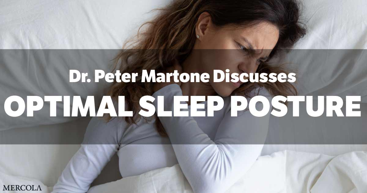 Tackle Sleep Posture to Optimize Cervical Backbone and Well being