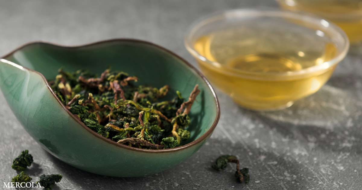 Oolong Tea May Help Shed Pounds While You Sleep