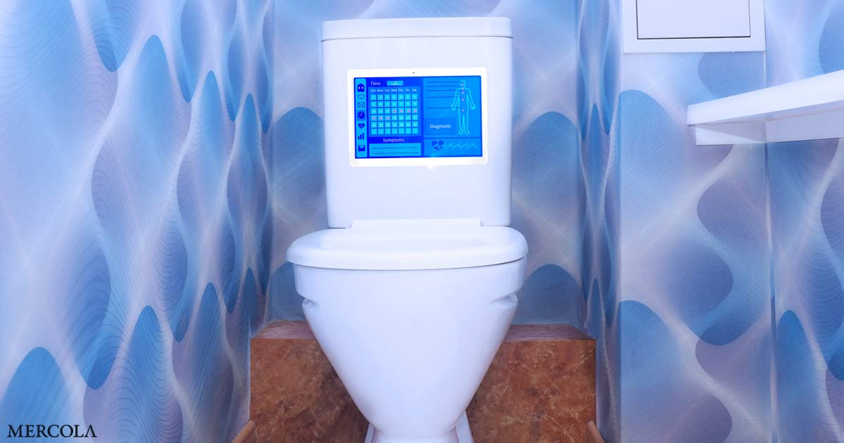 Intelligente Toiletten werden Anal-Fingerabdrücke verwenden (keine Satire)