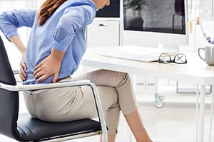 prolonged sitting pain