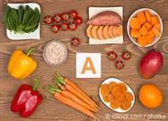 vitamin A-rich foods