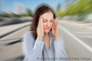 dizzy woman