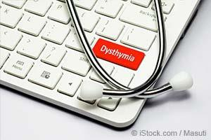 dysthymia on computer board