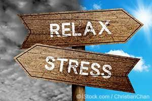 relax when stressed