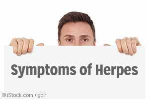symptoms of herpes