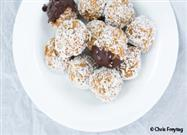 Healthful Carrot Cake Protein Balls