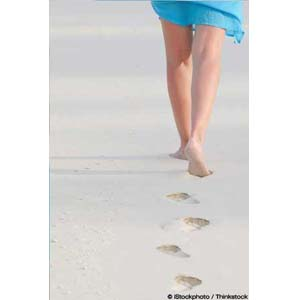 Walking Barefoot