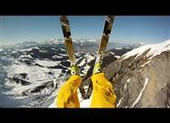 Avalanche Cliff Jump with Matthias Giraud