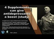 Supplements Proven Beneficial for Depression