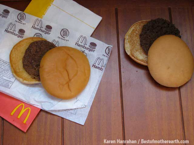 McDonald's Hamburger