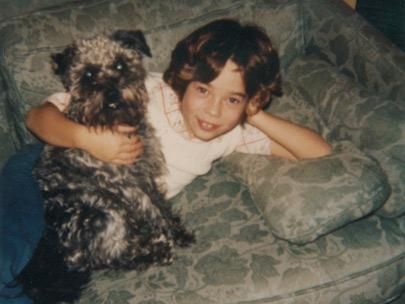 Dr Becker with Pet Dog