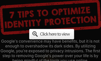 identity protection tip google