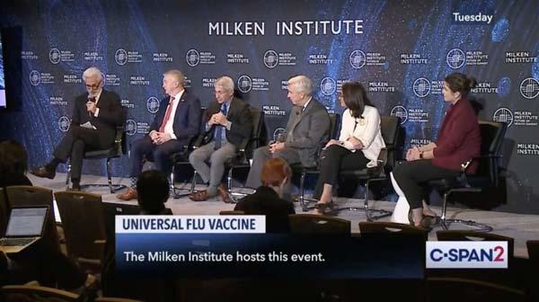 2019 milken institute universal flu vaccine panel