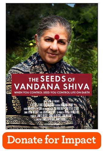 Seeds of Vandana Shiva