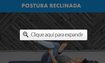postura reclinada