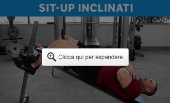 Sit-up inclinati