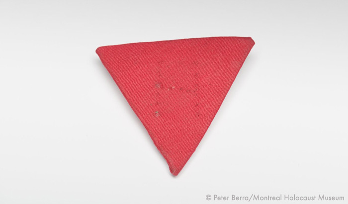 red nazi triangle