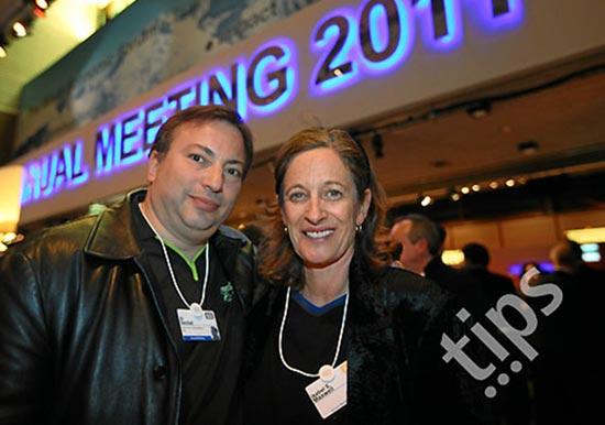 Isabel Maxwell and Al Seckel