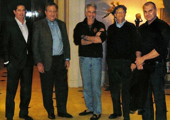 Meeting at Jeffrey Epstein's Manhattan mansion