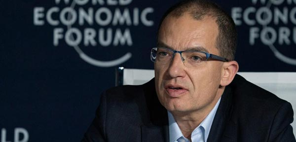 stephane bancel at the world economic forum annual meeting