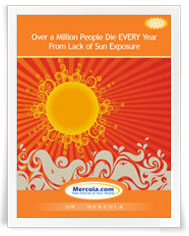Over A Million People Die Every Year From Lack of Sun Exposure