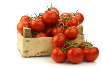 Tomatoes - source of lycopene
