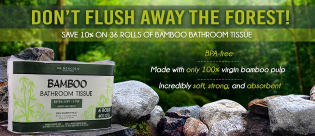 Bamboo Bathroom Tissue Special Offer