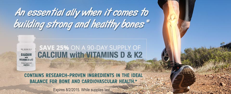 Calcium with Vitamins D & K2 Special Offer